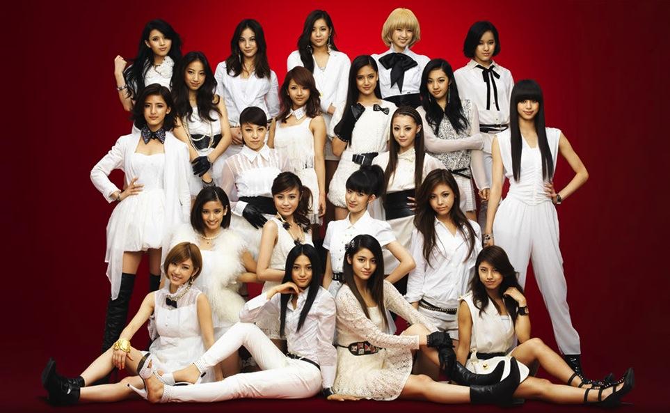 "E-Girls, promovendo ""Celebration!"""